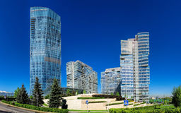 Almaty - Business Centre of Esentai Tower Stock Images