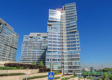 Almaty - Business Centre of Esentai Tower Royalty Free Stock Images