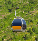 Almaty - Cable car Royalty Free Stock Photos