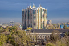 Almaty - Capital Center Royalty Free Stock Photos