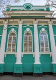 Almaty - casa velha dos comerciantes Imagem de Stock Royalty Free