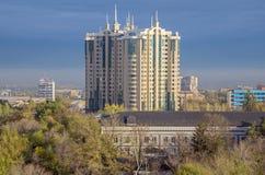 Almaty - centro capitale Fotografie Stock Libere da Diritti