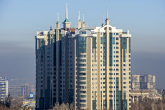 Almaty - centro de capital Fotos de Stock Royalty Free