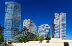 Almaty - centro di affari di Esentai Tower Fotografia Stock Libera da Diritti