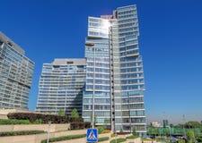 Almaty - centro di affari di Esentai Tower Immagini Stock Libere da Diritti