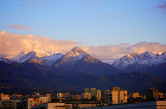 Almaty city Stock Image