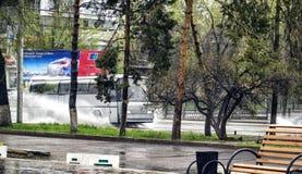 Almaty city. Royalty Free Stock Photography
