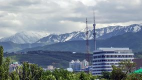 Almaty city. stock video footage