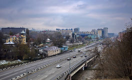 Almaty city. Stock Photos