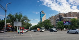 Almaty city. Royalty Free Stock Photography