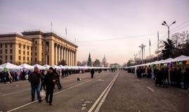 Almaty city. Stock Photos