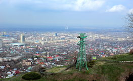 Almaty city. Royalty Free Stock Image