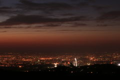Almaty city view Royalty Free Stock Photos