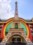 Almaty - copia della torre Eiffel Fotografie Stock Libere da Diritti