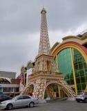 Almaty - copia della torre Eiffel Immagine Stock