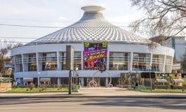 Almaty - costruzione del circo Immagine Stock Libera da Diritti