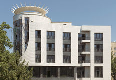 Almaty - costruzione moderna Fotografie Stock Libere da Diritti