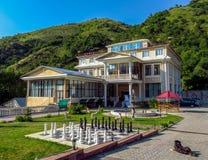 Almaty - edelweiss d'hôtel Image stock