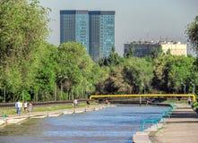 Almaty - Esentai river Royalty Free Stock Photography