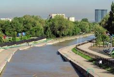 Almaty - Esentai river Stock Images