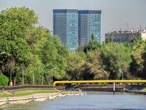 Almaty - Esentai river Royalty Free Stock Image