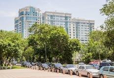 Almaty - grattacieli residenziali Fotografia Stock