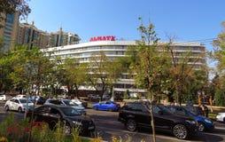 Almaty - hotel Almaty Immagine Stock Libera da Diritti