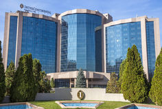 Almaty - hotel intercontinentale Immagini Stock