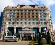 Almaty - hotel Rixos Fotografie Stock