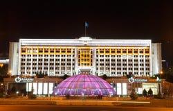 Almaty, il Kazakistan - 29 agosto 2016: Centro commerciale Almalye Immagine Stock