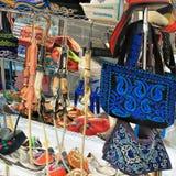 Almaty, il Kazakistan: ricordi tradizionali Fotografia Stock Libera da Diritti