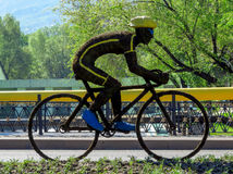 Almaty -  Instagram of Bicycle Stock Photos