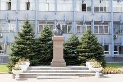 Almaty, Kasachstan - 29. August 2016: Tynyshpaev-Fehlschlag, Mukhamedz Lizenzfreie Stockbilder