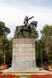 Almaty, Kazakhstan - August 29, 2016: Monument revolutionary Ama Stock Photo