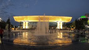 Almaty - Palace of the Republic stock footage