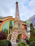 Almaty - kopia wieża eifla zdjęcia stock