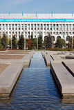 Almaty landscape Stock Image