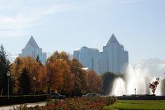 Almaty landscape Stock Photos