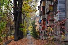 Almaty miasta ulicy Obraz Royalty Free