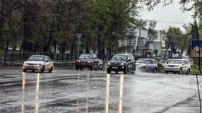 Almaty miasto fotografia stock