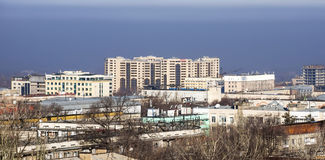 Almaty - Modern architecture Stock Photography