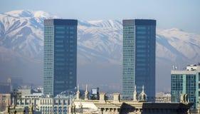 Almaty - modern arkitektur royaltyfria bilder