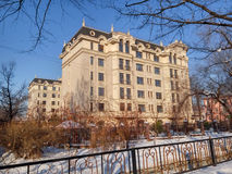 Almaty - moderne Architektur Stockfotografie
