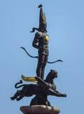 Almaty - monumento di indipendenza Fotografie Stock Libere da Diritti