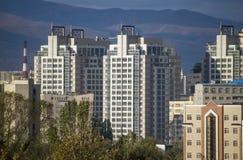 Almaty - Nowożytna architektura obraz royalty free