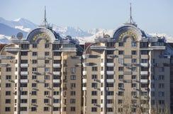Almaty - Nowożytna architektura fotografia stock
