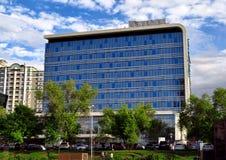 Almaty - Nowożytna architektura zdjęcia royalty free