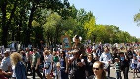 Almaty, o 9 de maio, Victory Day Imagens de Stock Royalty Free