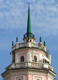 Almaty - Old building with spire Stock Photos