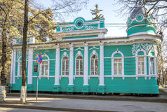 Almaty - Old merchants house Stock Photography